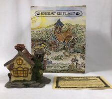 Boyds Bearly Built Villages #4 Bearly A School #19004  3E/11 In Box