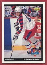 1992-93 Upper Deck McDonald's NHL All-Stars - #20 - Jaromir Jagr - Penguins