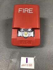 Eaton Lstr3 Wheelock Exceeder Wall Mount Led Strobe Fire Alarm
