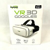 """Promark Virtual Reality 3D Goggles P-VR1 Works with SmartPhones up to 6"""" Screens"""