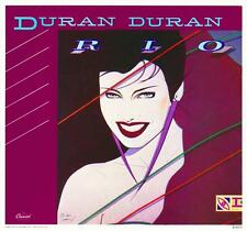 Duran Duran Rio 1982 Album Cover Stretched Canvas Wall Art Poster Print cd 80s