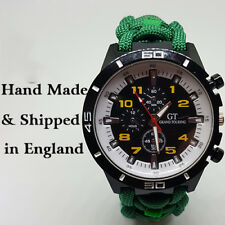 Paracord Watch with East Midlands Ambulance Service (EMAB) Strap