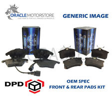 OEM SPEC FRONT REAR PADS FOR VOLVO XC60 2.0 TD 163 BHP 2010-