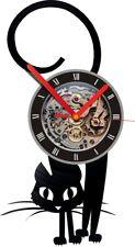 CAt Animal Wall Clock Living Room Vinyl Record Wall Clock Wall Watch Home Decor