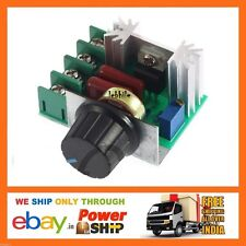 E42 AC 220V 2000W Step Down Voltage Regulator Speed Controller Dimmer