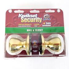 Kwikset Security Hall Closet Door Knob Adjustable Latch Fits Doors
