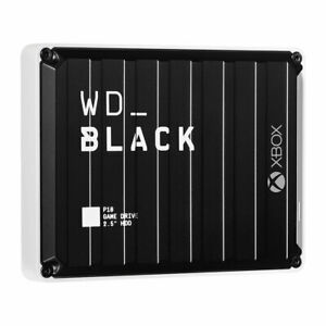 NEW WD_BLACK P10 Game Drive XBOX ONE - 5TB BLACK WDBA5G0050BBK-WESN