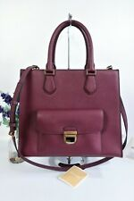 MICHAEL KORS Bridgette Crossbody Shoulder Grab Bag Lge Plum Saffiano Leather EX