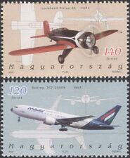 Hongrie 2006 avions/avion/aviation/Vol/transport/Commerce 2 V Set (n37753)