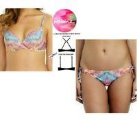 2 Pc. - Raisins Juniors Underwire Push Up Bikini Top & Hipster Bottom (L)