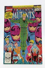 New Mutants (1983) Annual #6 1st Print Rob Liefeld Days Of Future Present VF/NM
