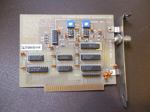 Hoefer Scientific Instruments ISA 8 BIT Card GS360 Electrophoresis (?) 1987 RARE