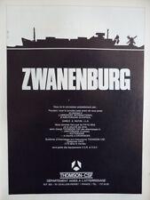 5/1971 PUB THOMSON-CSF ZWANENBURG AMSTERDAM SCHIPHOL ILS ORIGINAL FRENCH AD