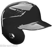 New Rawlings Coolflo Pro MLB Baseball One Ear Right Flap Helmet Black 7 5/8 Left