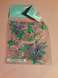 Jolee's Boutique dogwood & crocus flowers sticker pkg(free ship $20 min US ONLY