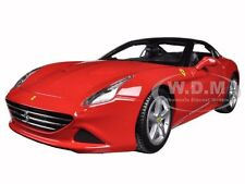 FERRARI CALIFORNIA T (CLOSED TOP) RED 1:18 DIECAST MODEL CAR BY BBURAGO 16003