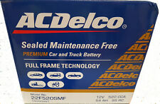 Battery ACDelco 22FR520SMF