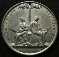 New listing 1838 Abolition Anti-Slavery Medal Rare Unlisted Negress with Baby