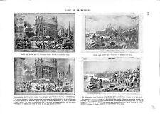WWI Journal Illustrated London News / ILLUSTRIRTE ZEITUNG NEWSPAPER ILLUSTRATION
