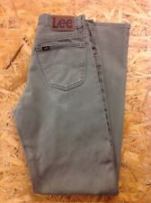 men's LEE 30-32W 34L Brooklyn Khaki Jeans. Good Cond.