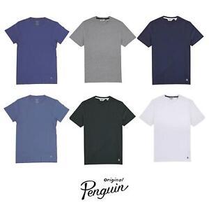 Original Penguin Mens T Shirt Cotton Top - Short Sleeve - Slim Fit - RRP £25