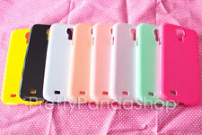8 Pastel Plain Blank Candy Color For Samsung Galaxy S4 Hard Case DIY Deco Lot