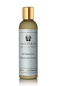 Skin Replenishing Facial Cleanser Wash - Anti-Aging, Dry, Sun Damage by Babyface