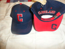 2016 AL CHAMPS CLEVELAND INDIANS HAT DONEGAL BAY NAVY W/RED BLOCK C NWT ONE SIZE