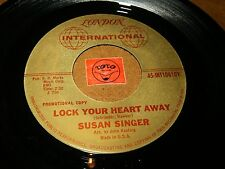 SUSAN SINGER - LOCK YOUR HEART AWAY - THE ANSWER TO A   / LISTEN - GIRL POPCORN