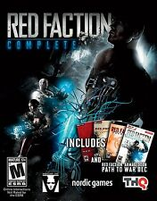 Red Faction Complete PC Games Windows 10 8 7 Vista XP Computer collection fps