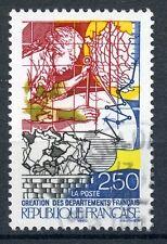 STAMP / TIMBRE FRANCE OBLITERE N° 2670 REVOLUTION / CREATION DES DEPARTEMENTS