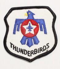 "USAF Air Force Patch: Thunderbirds Demo Team - 3"" shield"