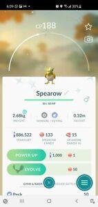 ✨Shiny Spearow Pokemon Go!! ✨ (30 day friend or registered)
