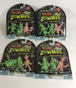 S.L.U.G. Zombies Christmas Collection All 12 NEW 4 Sets