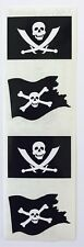 4 MODULES JOLLY ROGERS PIRATE FLAGS MRS GROSSMANS STICKERS SKULL BONES SWORD