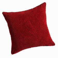 Soft Chenille Spots Cushion/Sofa Cushion Covers,2 Sizes & 5 Great Modern Colours