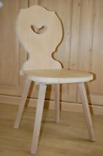 2er Set Cottage Chair Dining Chair Landau Corner Seat Solid Spruce Waxed New