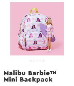 NWT Stoney Clover Lane X Barbie Malibu Memories Nylon Mini Backpack- Sold Out!