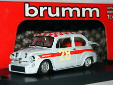 Brumm R369B Fiat Abarth 1000 TC 1966 Monza 4 Hours ETCC #28 LTD ED 1/43