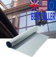 Window Silver-Film One Way Mirror-Insulation Sticker Solar-Reflective-Sunscreen