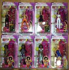 "SPICE GIRLS BABY, POSH, SPORTY, SCARY SET OF 8 Vintage 6"" Dolls TOYMAX 1998"