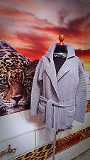 LACOSTE GR.L Damen Strickjacke Cardigan Baumwolle Wolle grau- Women's sweater