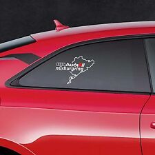 AUDI NURBURGRING A8 Q3 Q5 Q7 TT RS3 Car VINYL STICKER Bumper Window DECAL