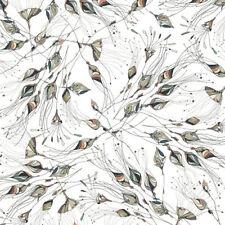 Quilting Treasures TRES CHIC WHITE Bud Toss COTONE 0,5m