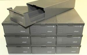 10 Stück Reflecta CS-Magazinbox 2x100 + 20 CS-Magazine Diamagazin Stapelbox