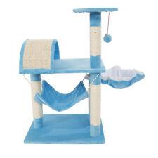 "New listing 32"" Cat Tree Scratching Condo Kitten Tower Climb Furniture Scratch Pet House"