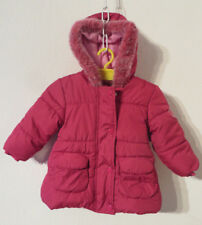 C&A Baby ° warme WINTERJACKE Gr. 68 rot Kapuze Mädchen Kleidung Jacke Anorak TOP