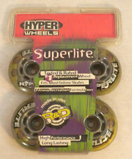 Hyper Wheels Superlite performance Outdoor Wheels 4pk 72mm 82A CLEAR Yellow