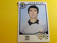 DINO ZOFF JUVENTUS FIGURINA ALBUM CALCIATORI PANINI 1982/83 n°154 rec