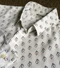 SAINT LAURENT – Mens Silk Shirt – Medium